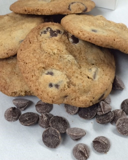 Crunchy Chocolate Chip Gold Ribbon Gourmet Cookies